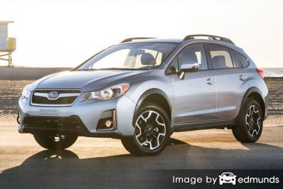 Insurance rates Subaru Crosstrek in Philadelphia