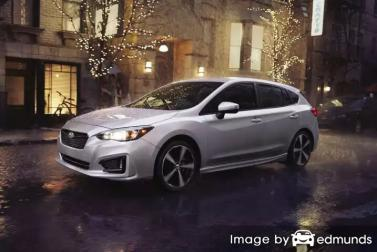 Insurance quote for Subaru Impreza in Philadelphia