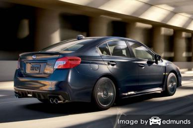 Insurance quote for Subaru WRX in Philadelphia