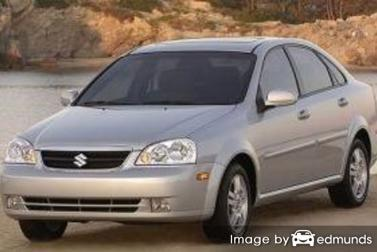 Insurance rates Suzuki Forenza in Philadelphia