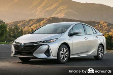Insurance rates Toyota Prius Prime in Philadelphia