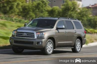 Discount Toyota Sequoia insurance