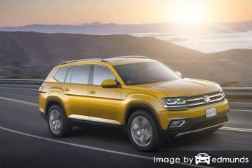 Insurance rates Volkswagen Atlas in Philadelphia
