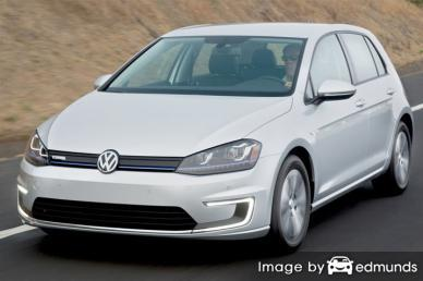 Discount Volkswagen e-Golf insurance
